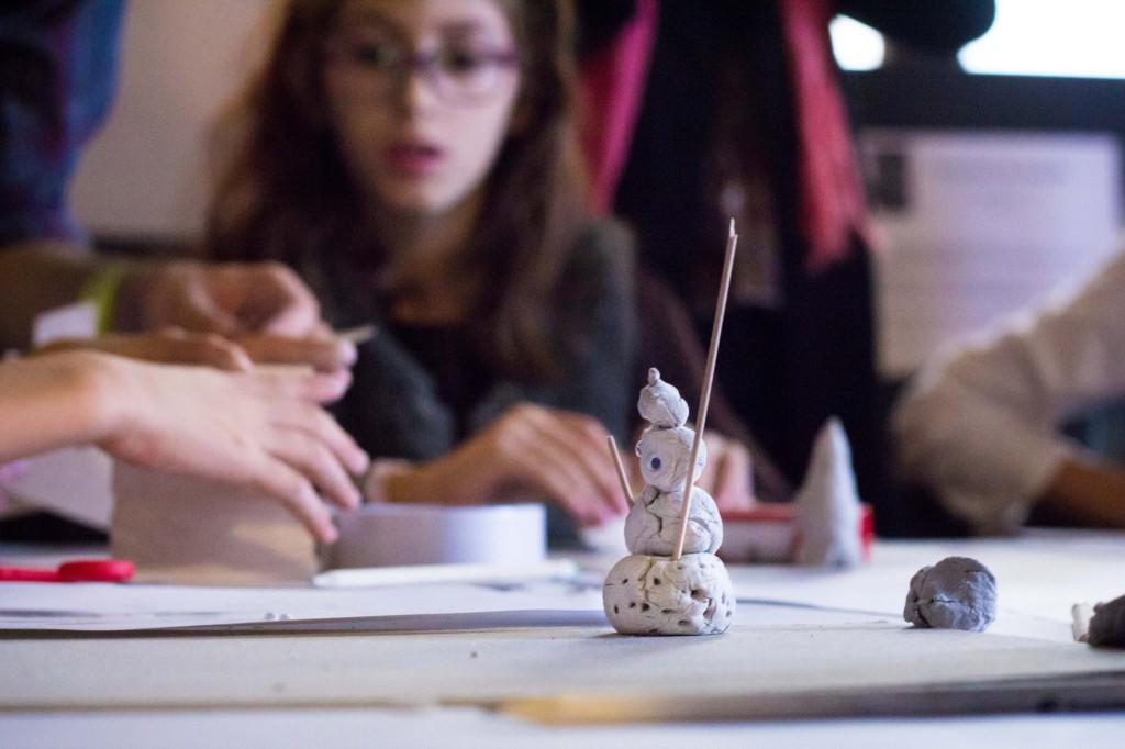 """Atelier De-a arhitectura la """"Case-n casă"""""""